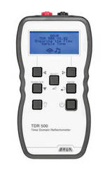 Baur TDR 500 Handheld Time Domain Reflectometer